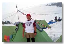 Dan at Base Camp