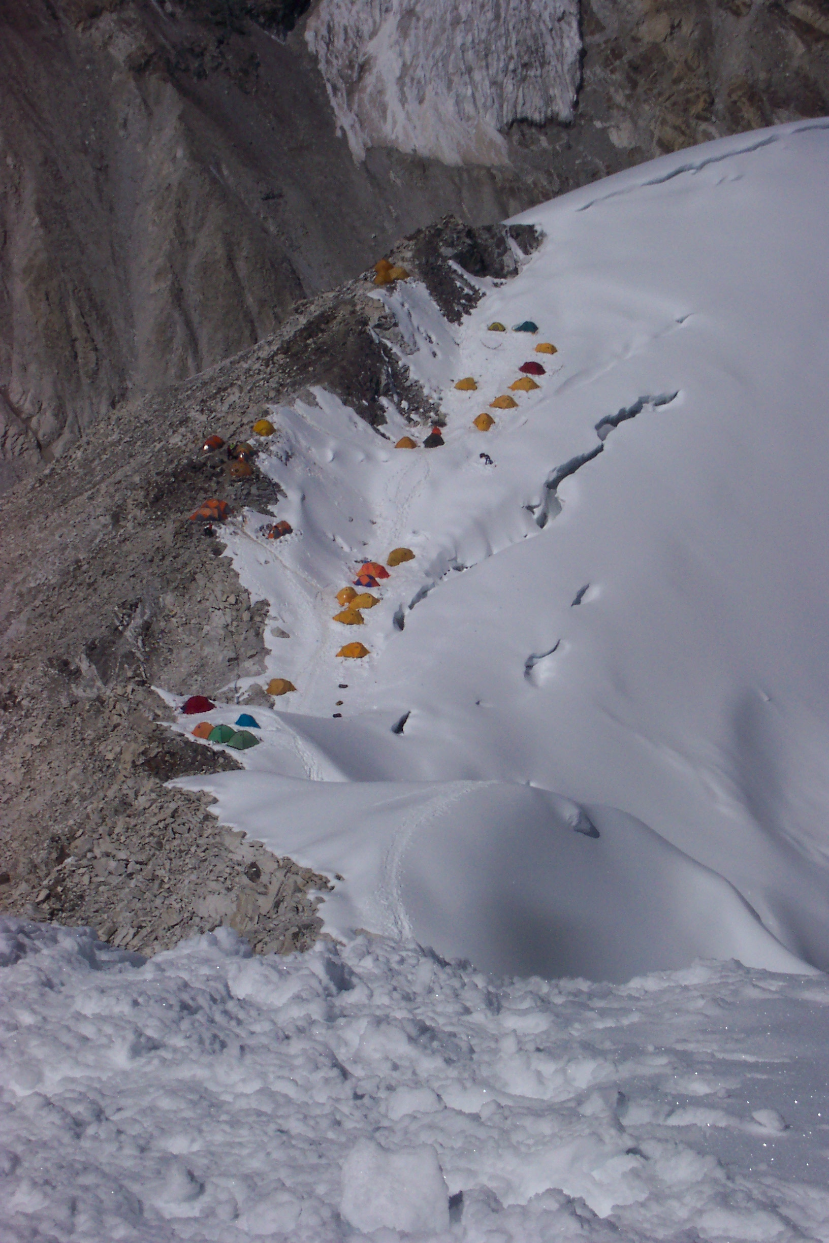 Everest 2009 American Nancy Norris Seeks To Become The